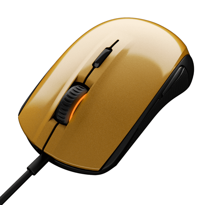 Мышь Steelseries Rival 100 Alchemy Gold - фото 1