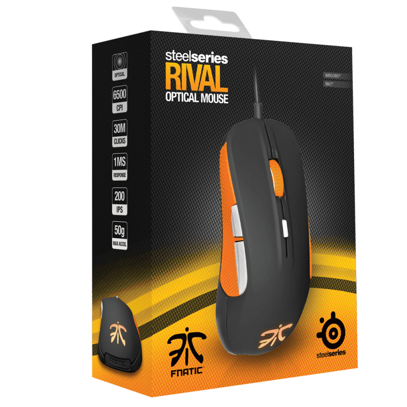 SteelSeries Rival Fnatic Team Edition - фото 8