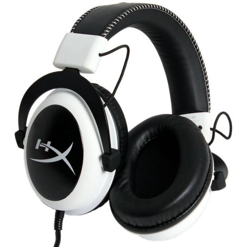 Наушники Kingston HyperX Cloud White - фото 3