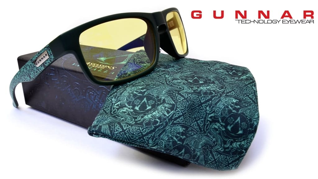 Обзор GUNNAR Enigma Teal Amber Asassin's Creed Valhalla