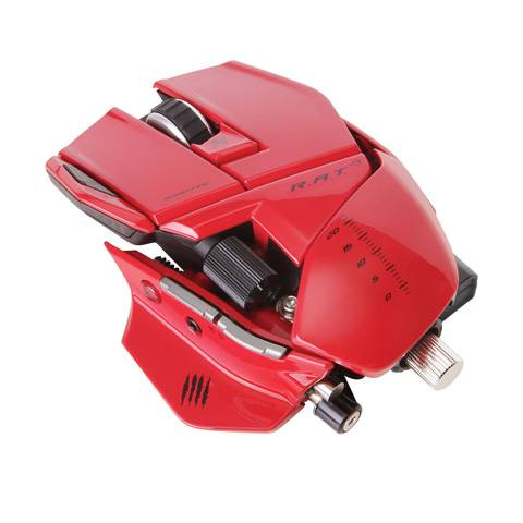 Mad Catz R.A.T. 9 Gloss Red - фото 1