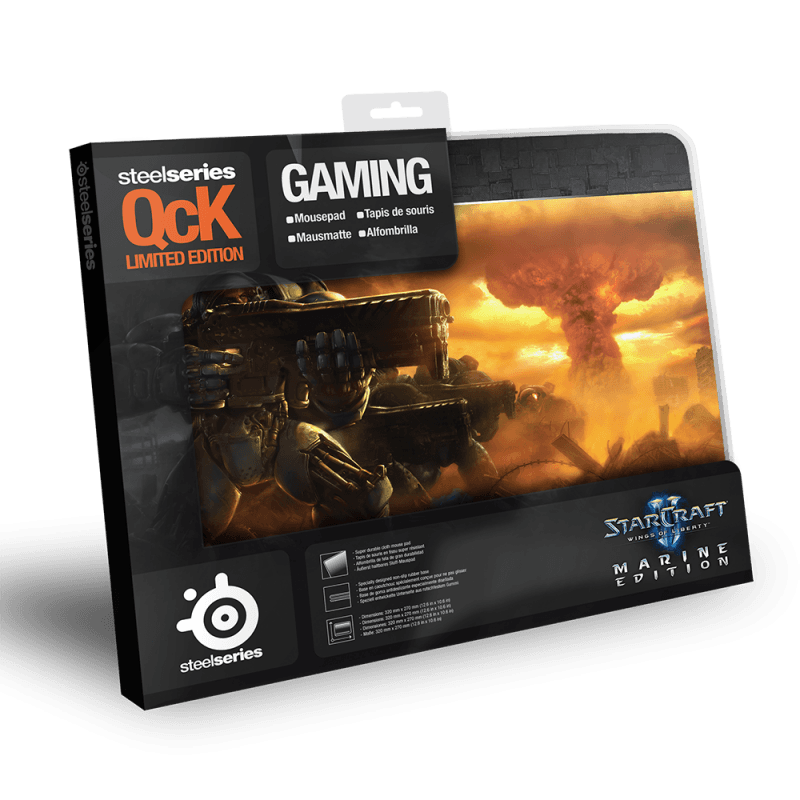 SteelSeries QcK Limited Edition StarCraft2 Marine - фото 2