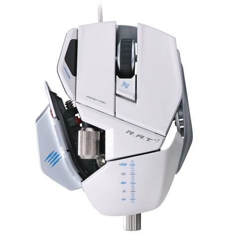 Mad Catz R.A.T. 7 Gloss White - фото 3