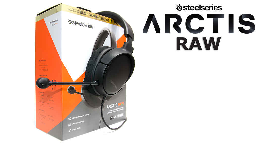 Обзор SteelSeries Arctis Raw
