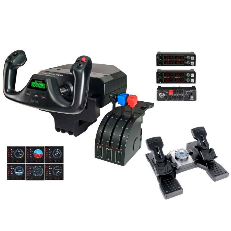 Saitek Pro Flight Commercial Pilot Bundle for PC - фото 1