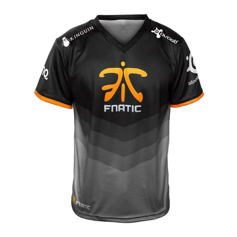 Футболка Fnatic Player T-Shirt 2015 New Season - фото 1