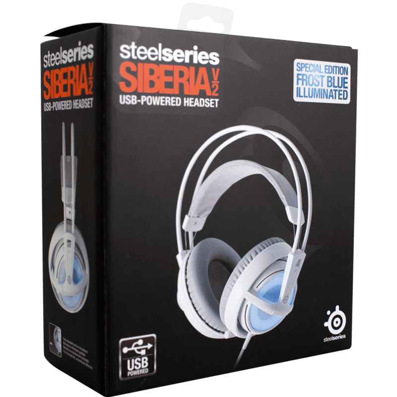 Наушники SteelSeries Siberia v2 Frost Blue - фото 4