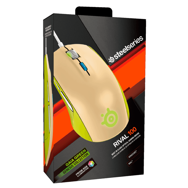 SteelSeries Rival 100 Gaia Green - фото 5