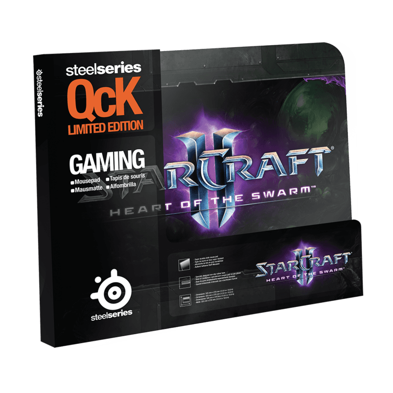 SteelSeries QcK StarCraft II Heart of the Swarm Logo Edition - фото 2