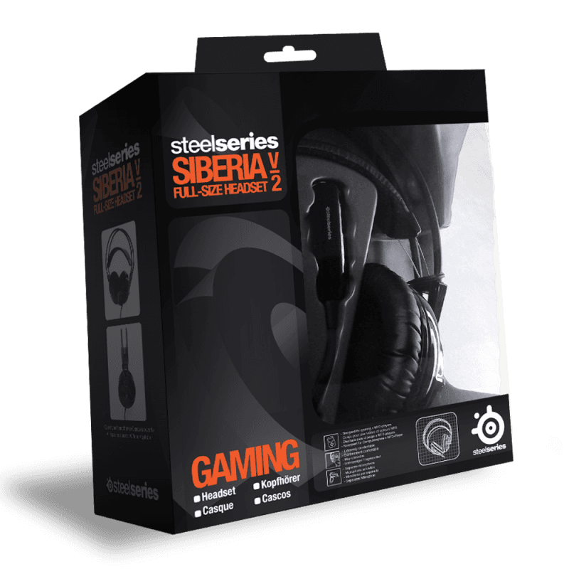 SteelSeries Siberia v2 Black - фото 5