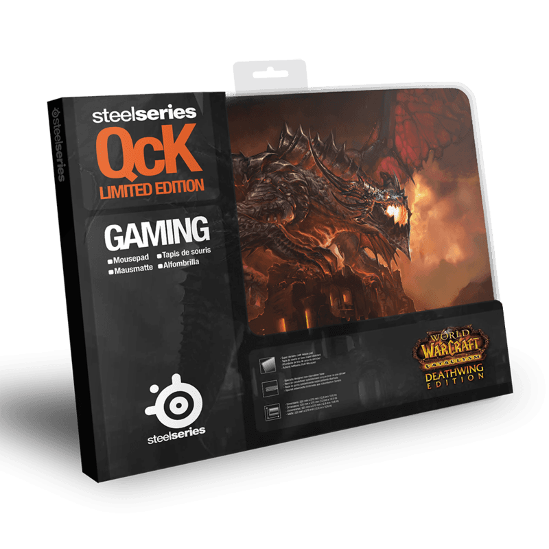 SteelSeries QcK Deathwing Edition (Cataclysm) - фото 2