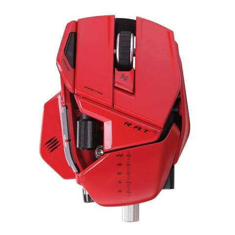 Mad Catz R.A.T. 9 Gloss Red - фото 2