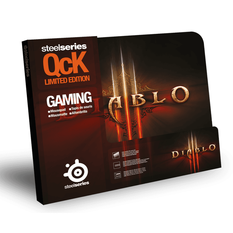 SteelSeries QcK Diablo III Logo Edition - фото 2