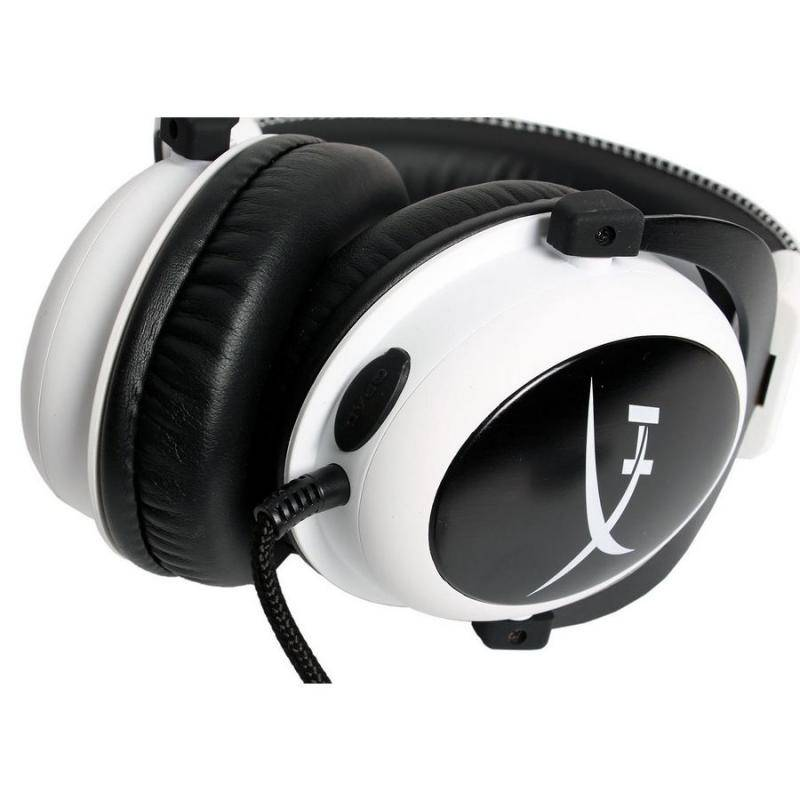 Наушники Kingston HyperX Cloud White - фото 4