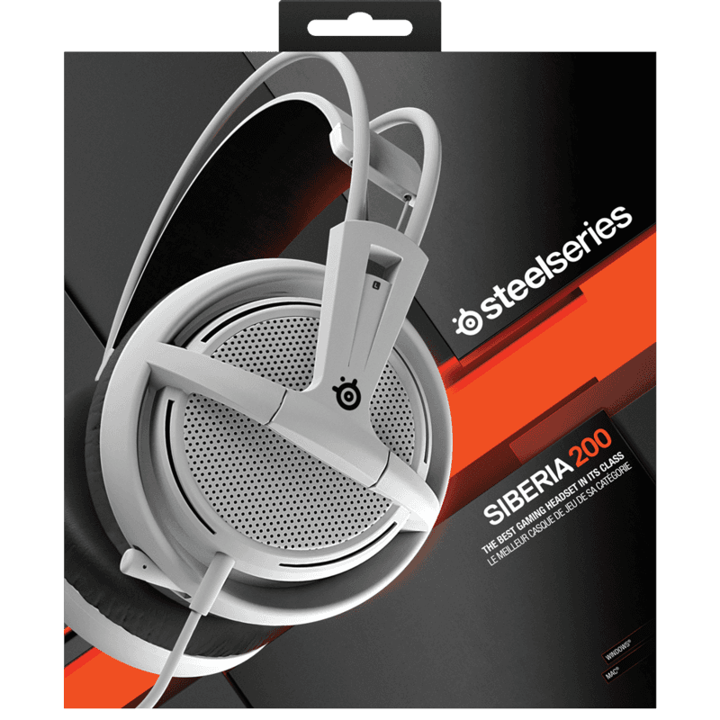 Наушники SteelSeries Siberia 200 White - фото 7