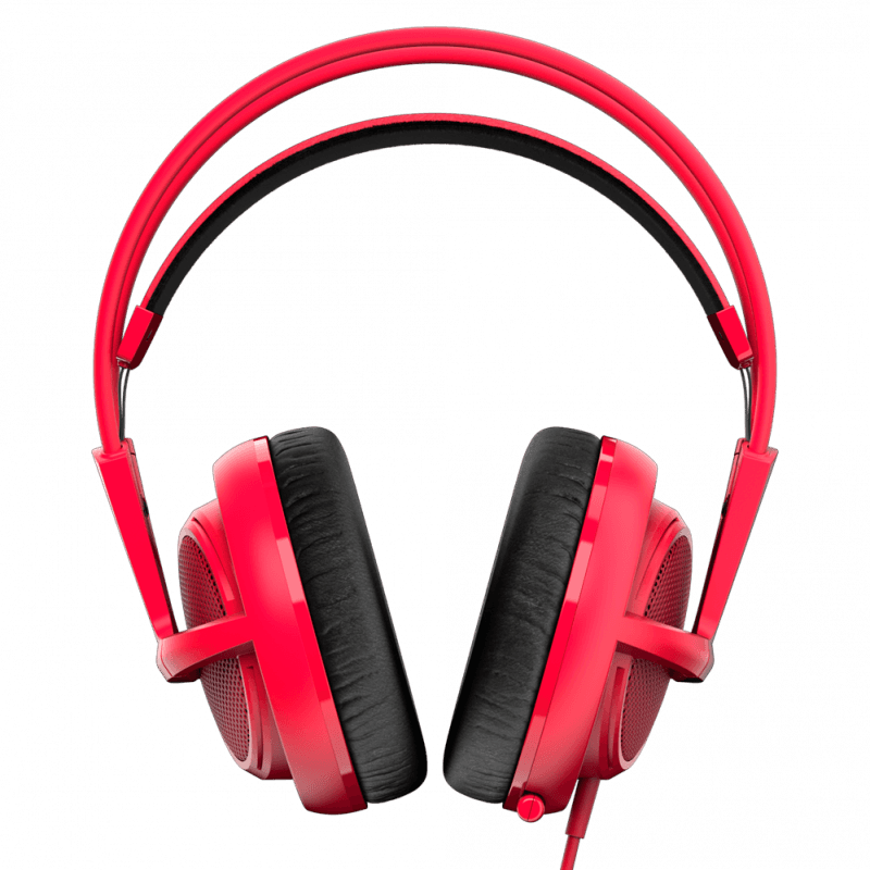 Наушники SteelSeries Siberia 200 Forged Red - фото 5