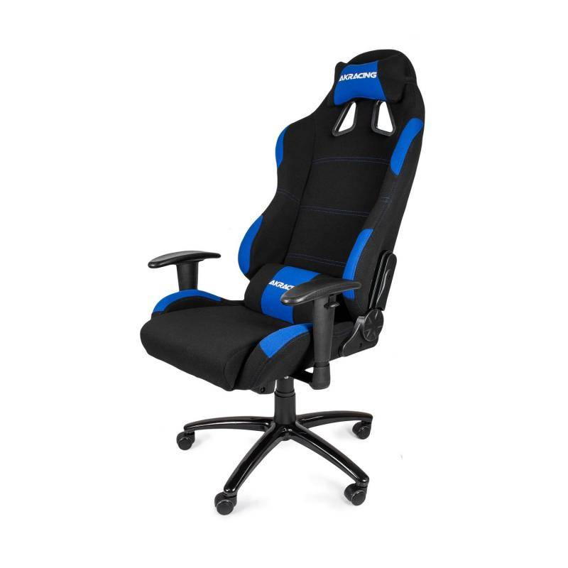 AKRacing Gaming Chair Black Blue - фото 1