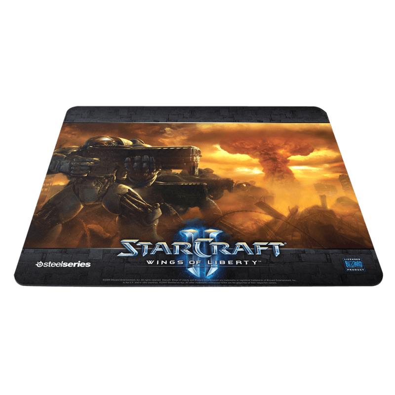SteelSeries QcK Limited Edition StarCraft2 Marine - фото 1
