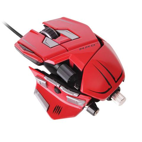 Mad Catz M.M.O. 7 Gloss Red - фото 1