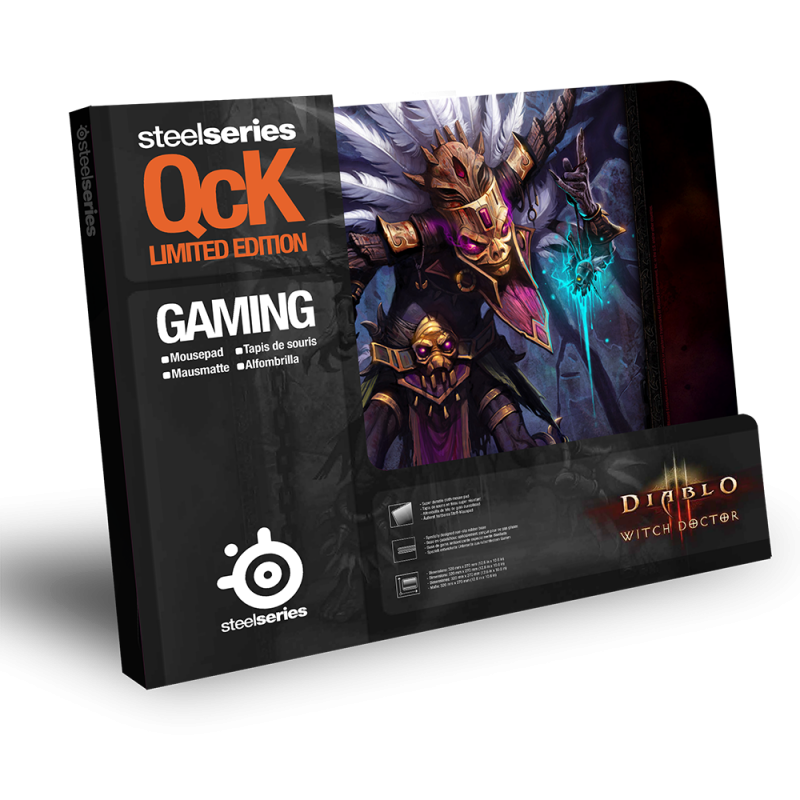 SteelSeries QcK Witch Doctor Edition Diablo III - фото 2
