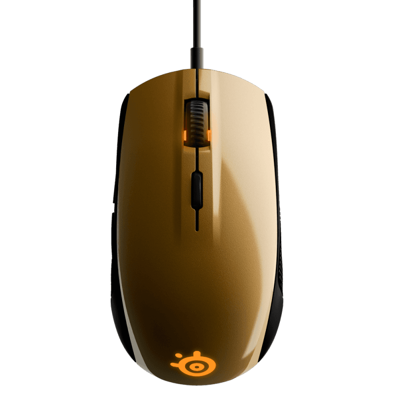 Мышь Steelseries Rival 100 Alchemy Gold - фото 3