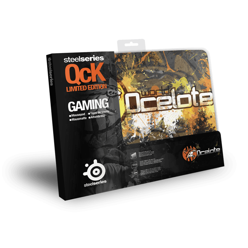 SteelSeries QcK SK Ocelote Edition - фото 2