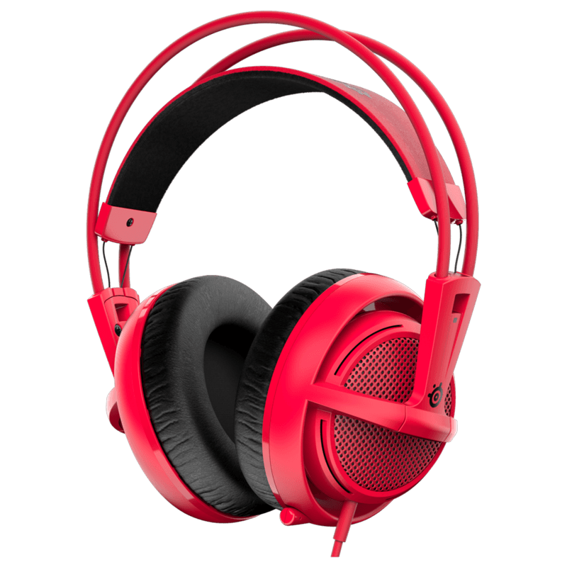 Наушники SteelSeries Siberia 200 Forged Red - фото 1