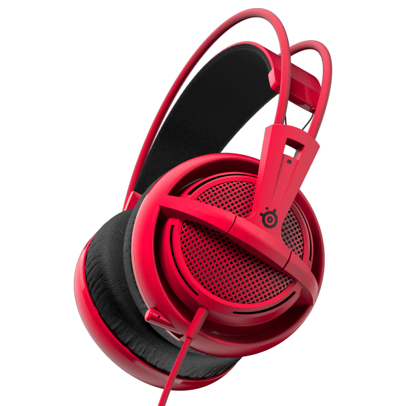 SteelSeries Siberia 200 Forged Red - фото 2