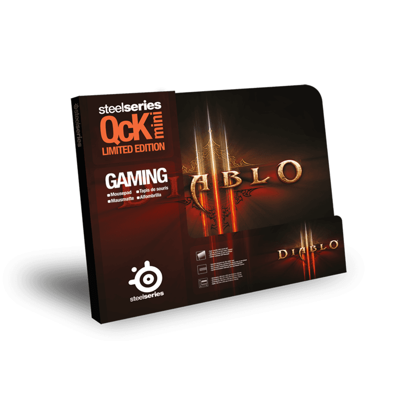 SteelSeries QcK mini Diablo III Logo Edition Diablo III - фото 2