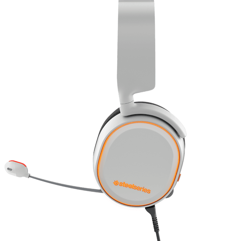 Наушники SteelSeries Arctis 5 White - фото 2