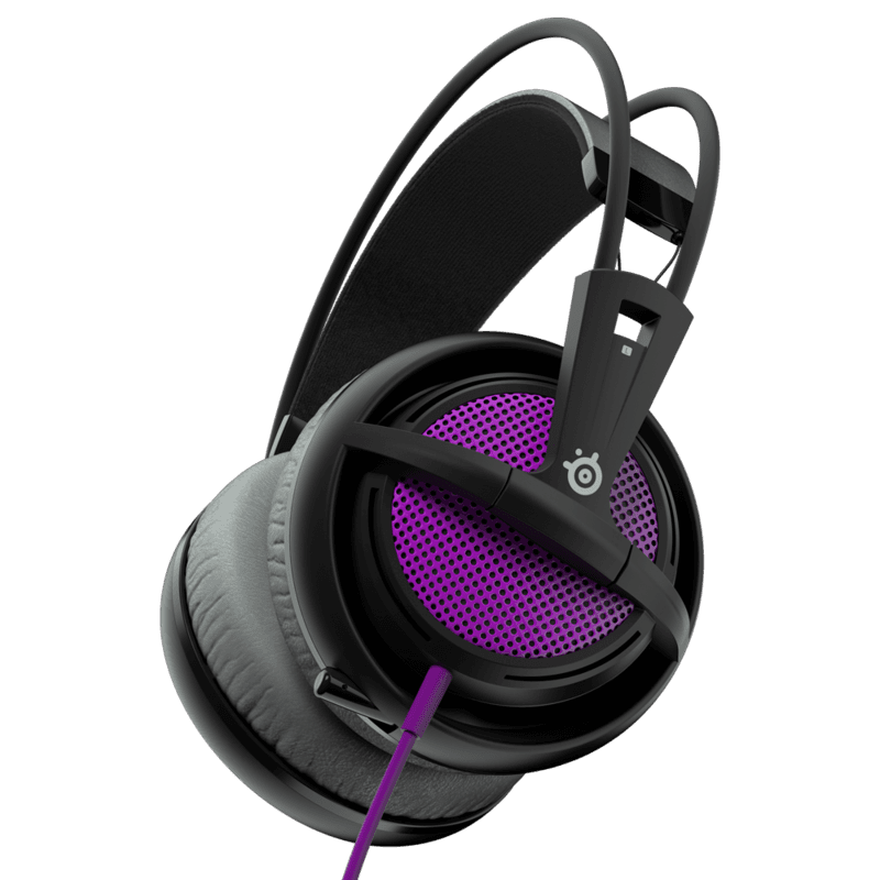 Наушники SteelSeries Siberia 200 Sakura Purple - фото 6