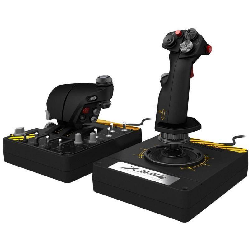 Авиасимуляторы Saitek X-55 Rhino H.O.T.A.S. System for PC