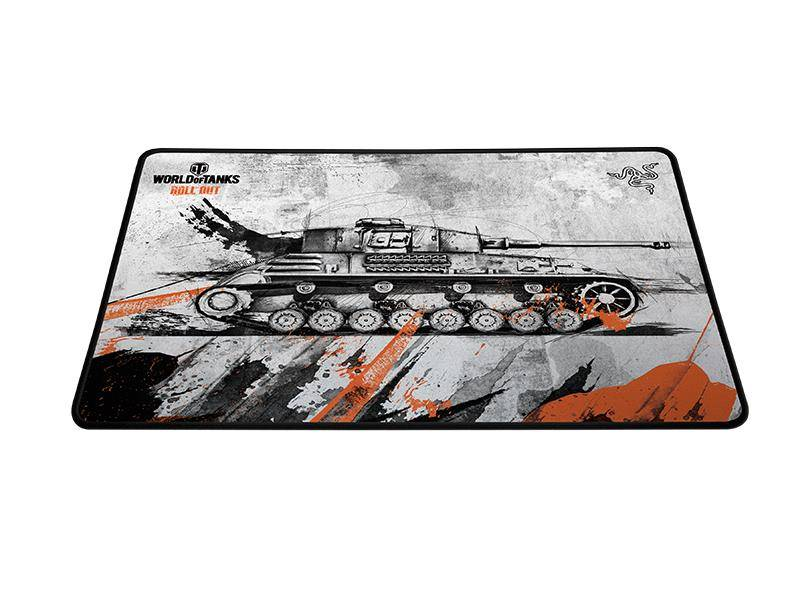 Коврик для мыши Razer Goliathus World of Tanks Edition - фото 1