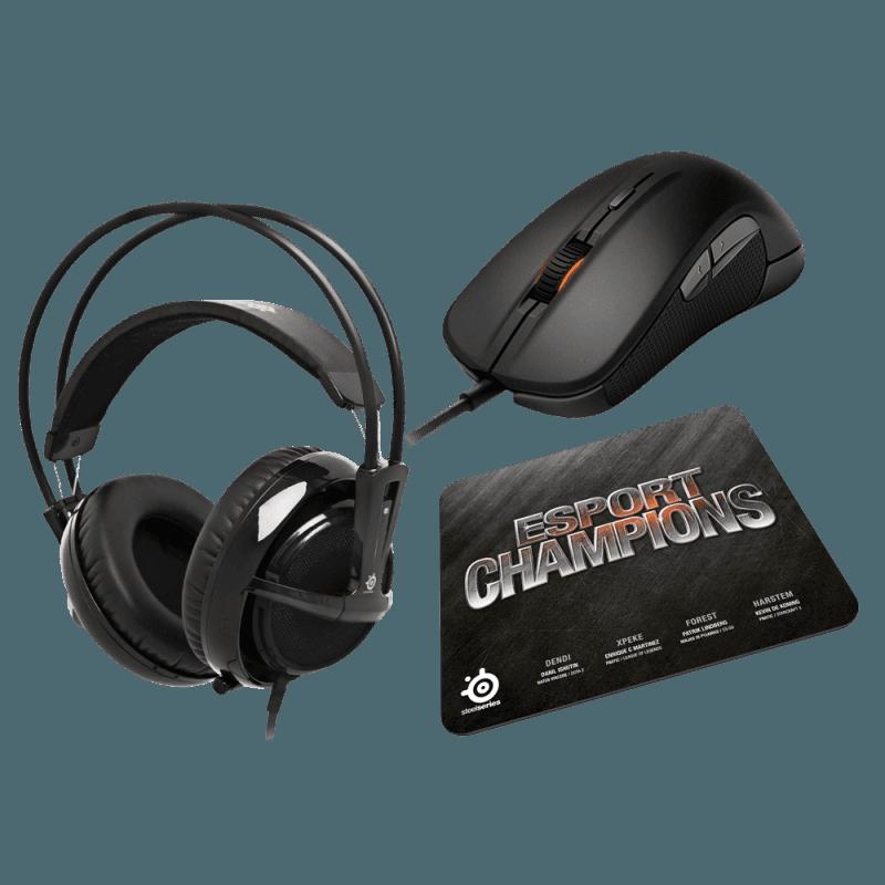 Мышь игровая SteelSeries Champions Bundle