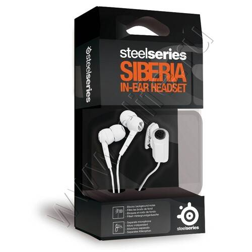 SteelSeries Siberia In-Ear Headset White - фото 1