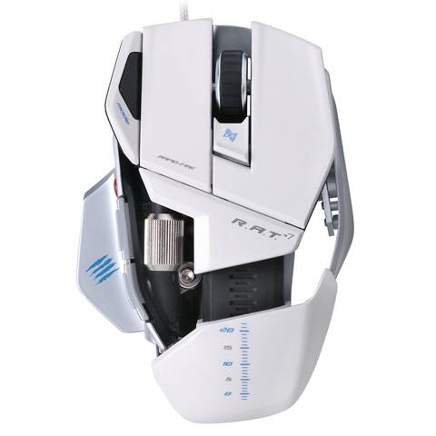 Mad Catz R.A.T. 7 Gloss White - фото 4