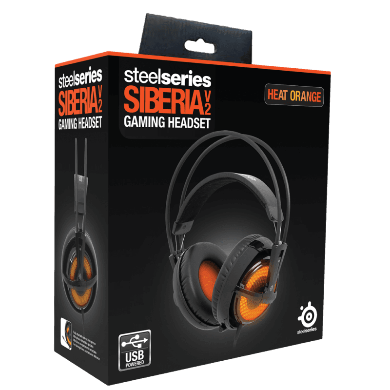 SteelSeries Siberia v2 Heat Orange - фото 7