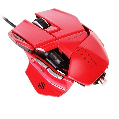Mad Catz R.A.T. 5 Gloss Red - фото 1