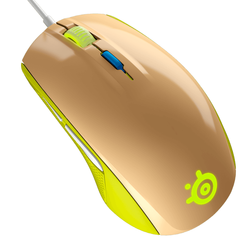 SteelSeries Rival 100 Gaia Green - фото 2