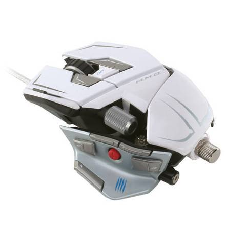 Mad Catz M.M.O. 7 Gloss White - фото 1