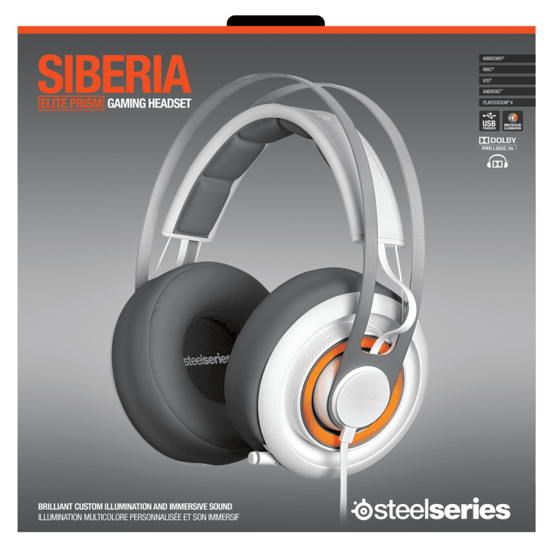 SteelSeries Siberia Elite Prism White - фото 7