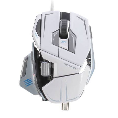 Mad Catz M.M.O. 7 Gloss White - фото 2