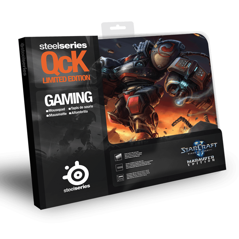 SteelSeries QcK Limited Edition StarCraft II Marauder - фото 2