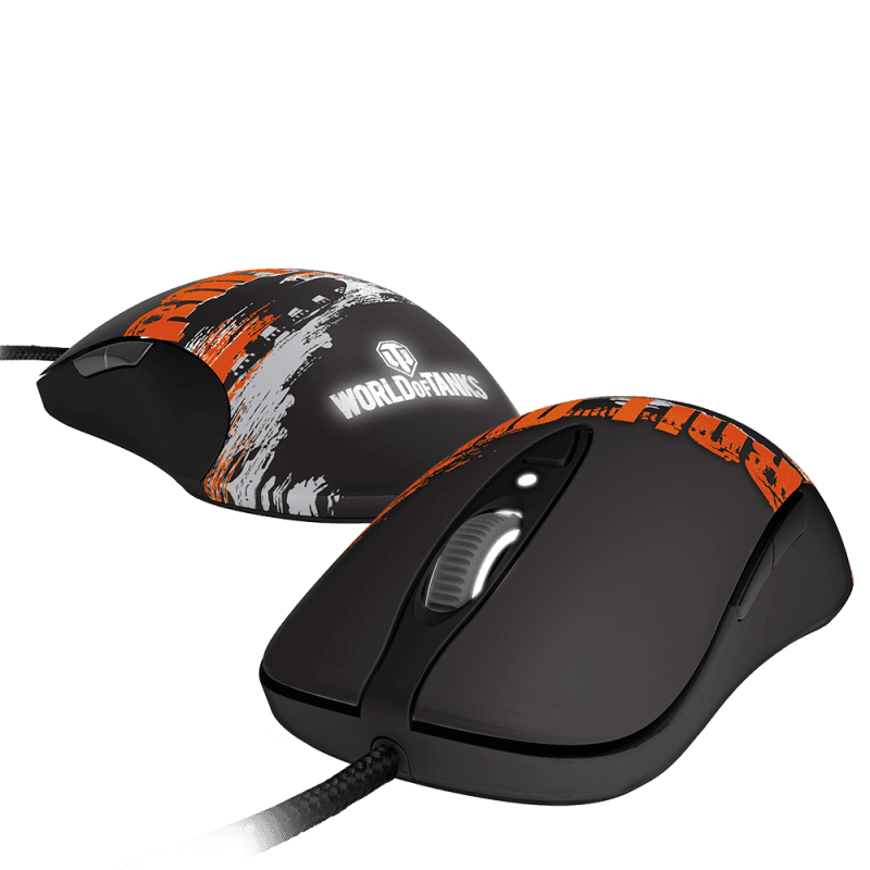 Мышь игровая SteelSeries Sensei RAW World of Tanks Edition