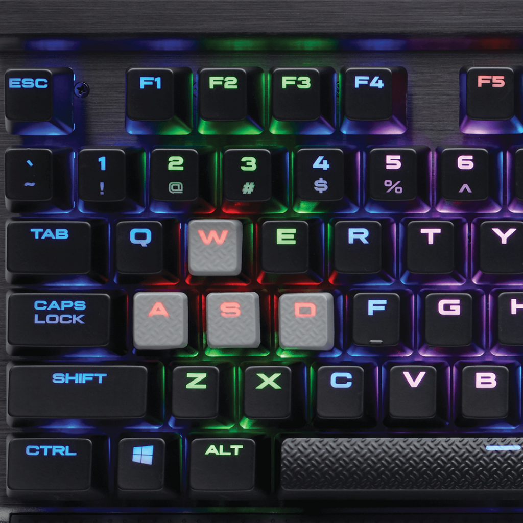 Клавиатура Corsair K65 RGB Rapidfire Cherry MX Speed - фото 5