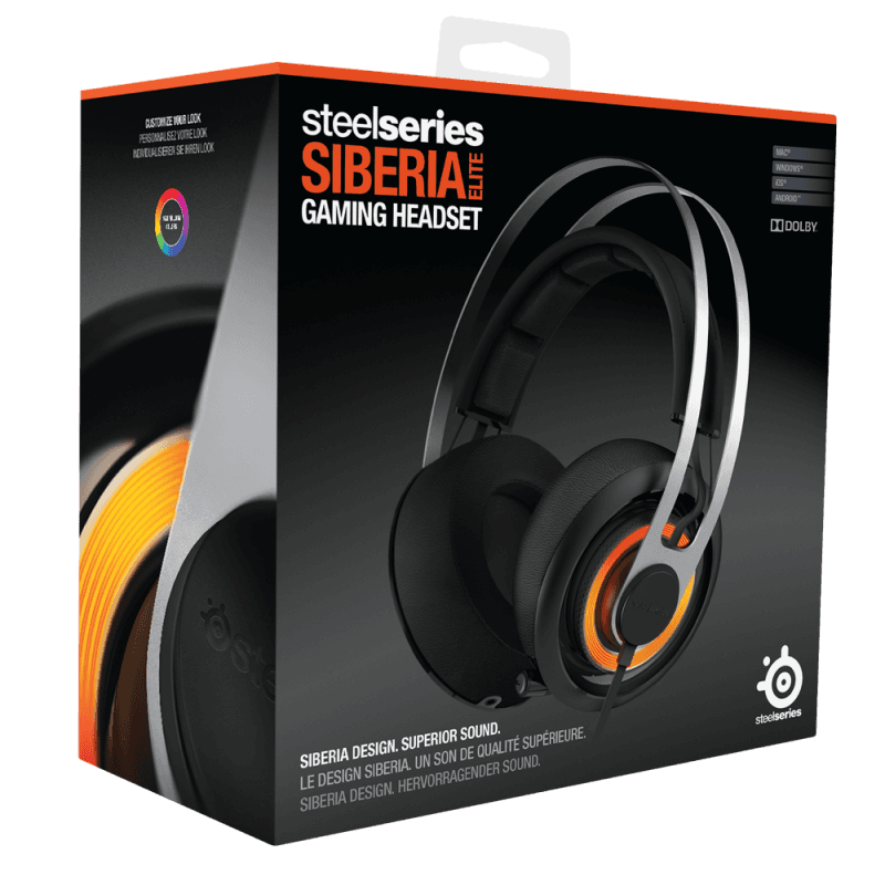 SteelSeries Siberia Elite Black - фото 4