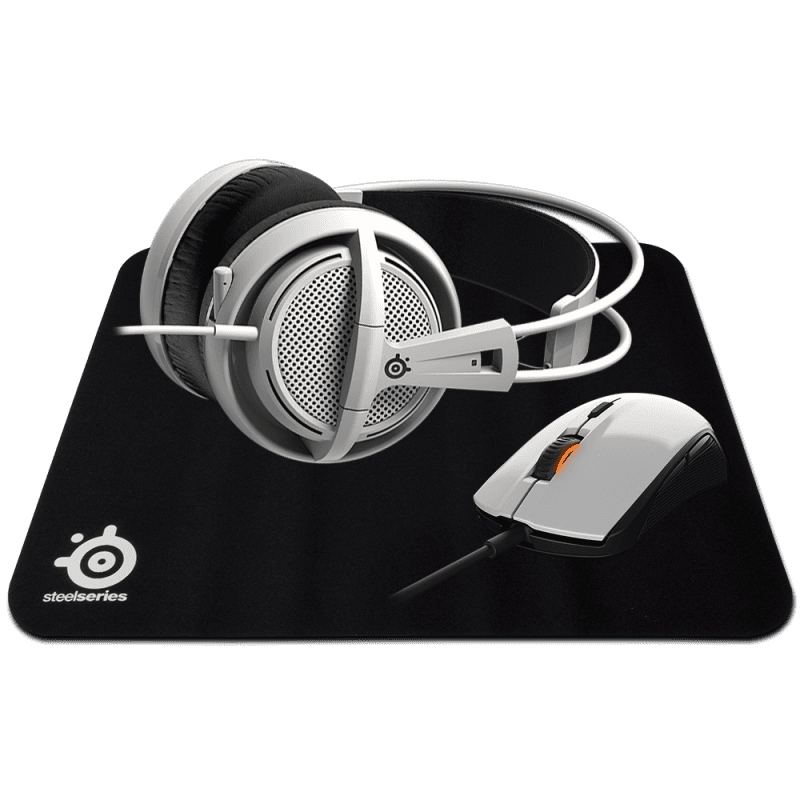 SteelSeries White