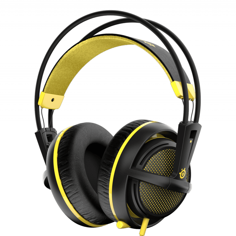 SteelSeries Siberia 200 Proton Yellow - фото 1