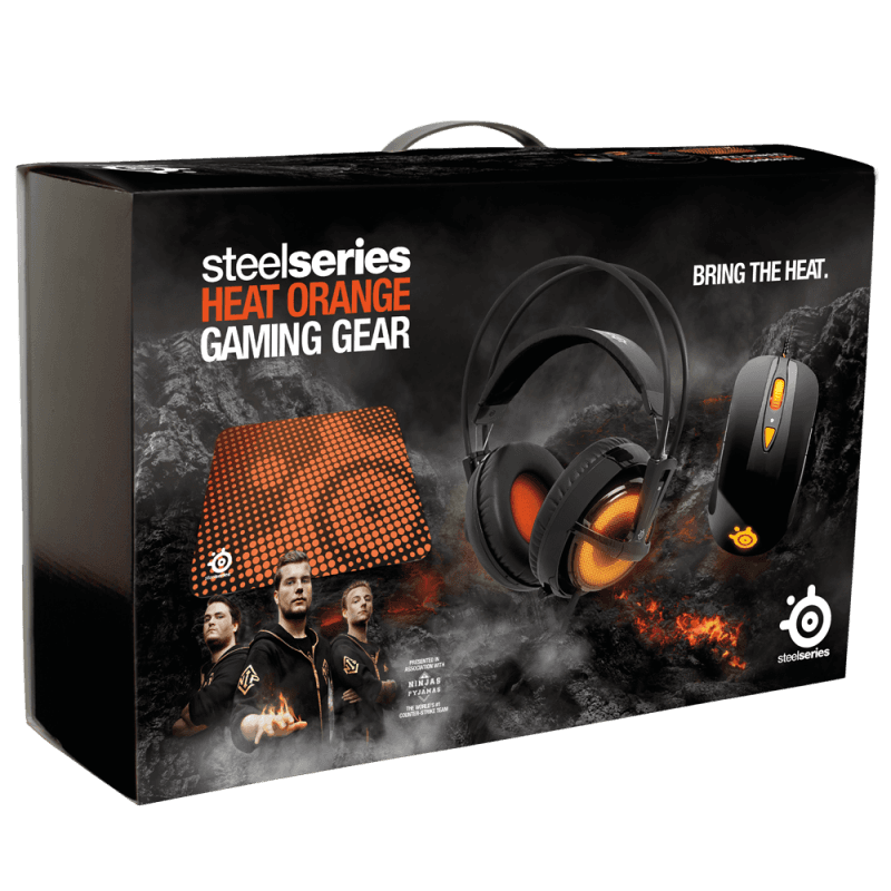 SteelSeries Heat Orange Bundle - фото 5