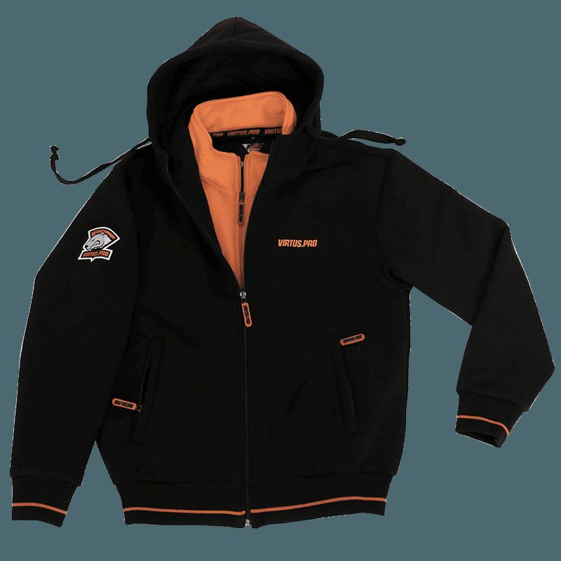 Одежда для геймеров virtus.pro Zipped Hoodie Premium
